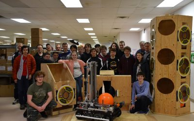PJ Currier Assists the Souhegan Robotics Team