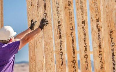 TimberStrand LSL Premium Wall Framing